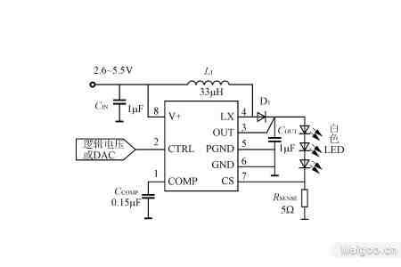 in69m 背光驱动电路图