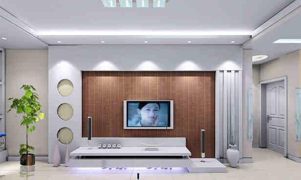电视墙颜色选择 客厅电视墙用什么颜色好