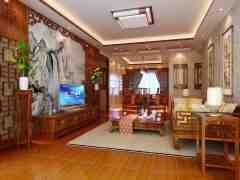 中式实木地板贴图 古朴典雅装扮你的家
