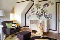 欧式风格婴儿房装修图片大全