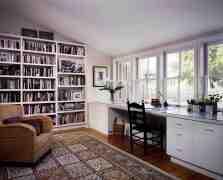 8款书房装修效果图 在家营造阅读好环境