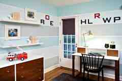 儿童书房装修效果图 小宝贝的阅读空间