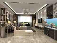 欧式电视墙装修效果图 让客厅简单不失品味