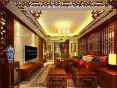 中式风格电视背景墙图片大全欣赏