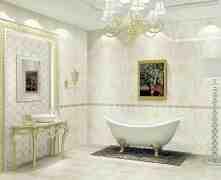 卫生间瓷砖搭配装修效果图 精美瓷砖魔幻拼接扮