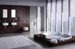 最新欧式风格卫生间装修效果图 为你展示卫浴里