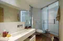 现代简约风格卫生间装修效果图 简约不简单的温