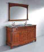 浴室柜好品牌 法恩莎浴室柜图片