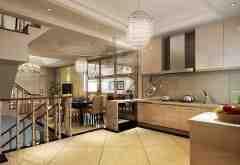 别墅厨房装修效果图 让厨房成为真正的乐园