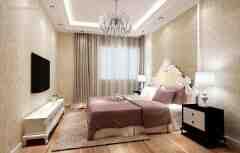 优雅柔美6款欧式风格卧室电视背景墙装修效果图