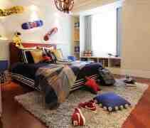 中式儿童房效果图 健康环保美丽小家