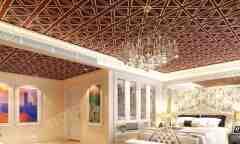BOLN宝兰 时尚现代风格 卧室吊顶效果图欣赏