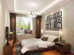 最新飘窗窗帘装饰效果图大全 给您的家装穿上一