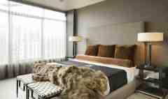 现代人喜欢的自然异国情怀 美式风格卧室效果图