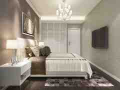 卧室电视墙背景效果图 打造卧室个性新亮点