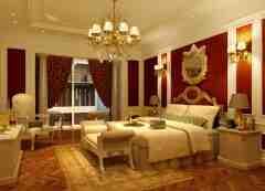 欧式风格卧室装修效果图推荐 优雅独特给你轻松