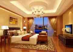 古典欧式风格主人房装修设计效果图