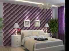 卧室床头软包背景墙装修效果图欣赏