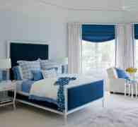 12款蓝色卧室设计图 让你和大海有一个约会