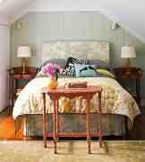 田园风格卧室装修效果图 一起把大自然的美搬回