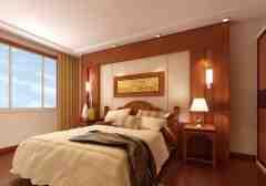 中式风格卧室装修效果图推荐2015最新图片