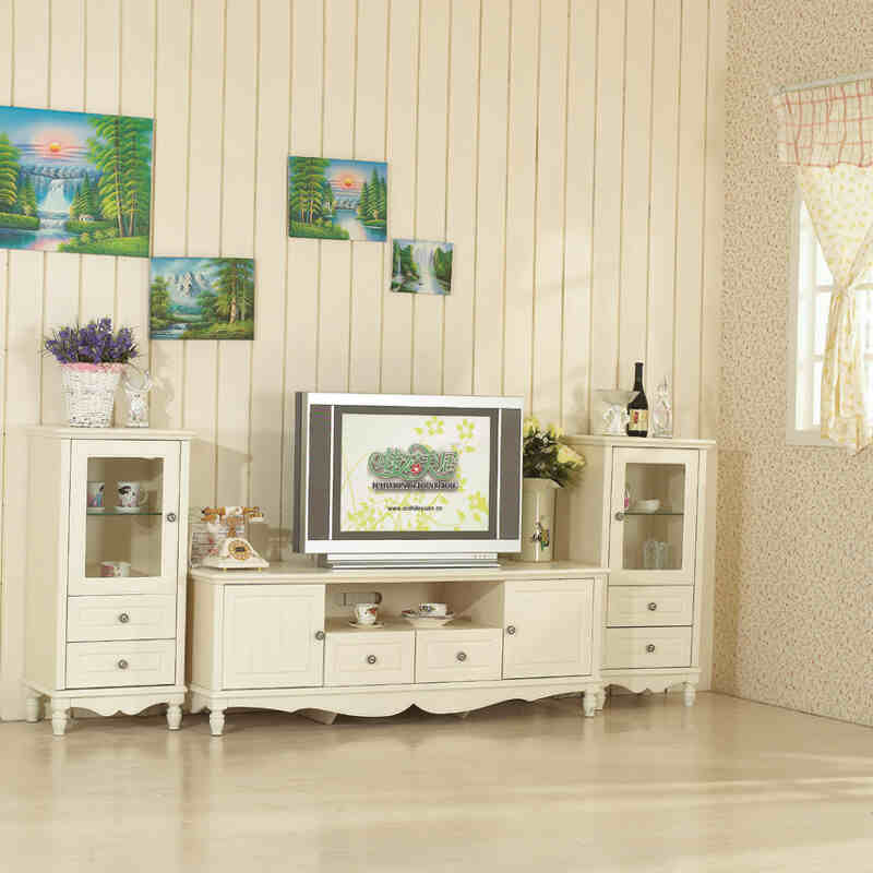 欧式风格电视柜组合图片