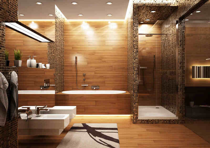 最新欧式风格卫生间装修效果图 为你展示卫浴里(2)